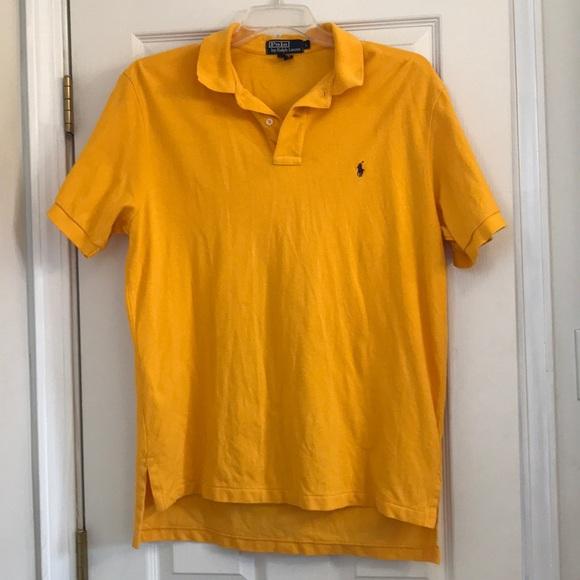 Ralph Lauren Gold polo shirt